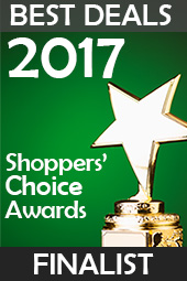2017 Shopper's Choice Awards Finalist